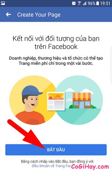 Hướng dẫn cách tạo FanPage Facebook từ điện thoại + Hình 8