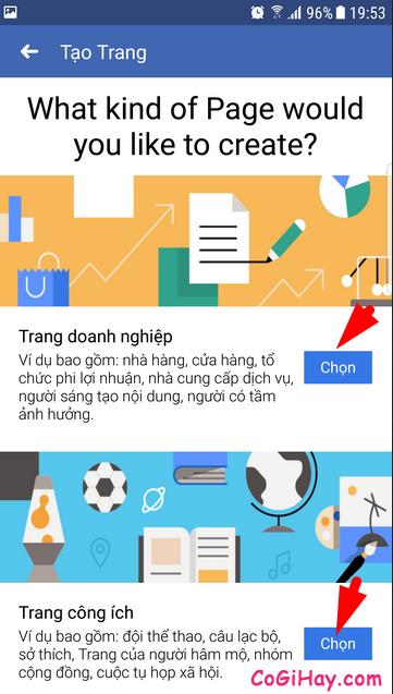 Hướng dẫn cách tạo FanPage Facebook từ điện thoại + Hình 10