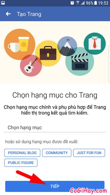 Hướng dẫn cách tạo FanPage Facebook từ điện thoại + Hình 11