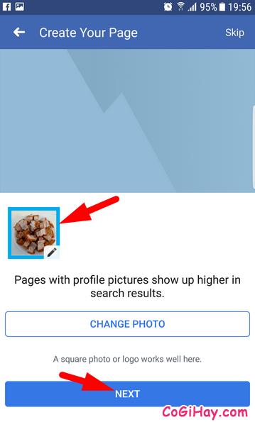 Hướng dẫn cách tạo FanPage Facebook từ điện thoại + Hình 14