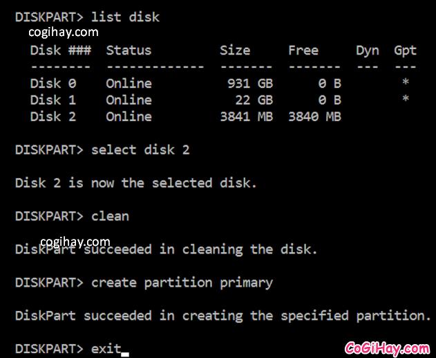 Cách khôi phục lại dung lượng lưu trữ trên USB bị mất, hao hụt + Hình 6