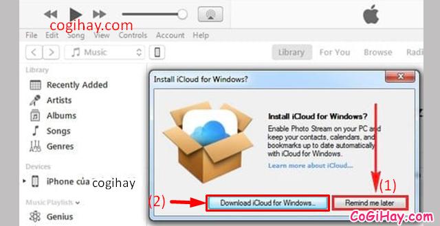 Ba cách kết nối iPhone, iPad với Máy tính, LAPTOP, PC Windows, MAC + Hình 11