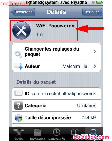 Cách xem lại mật khẩu WIFI được lưu trên iPhone, iPad đã jailbreak + Hình 7
