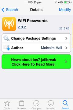 Cách xem lại mật khẩu WIFI được lưu trên iPhone, iPad đã jailbreak + Hình 10