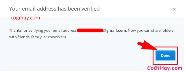 Hướng dẫn đăng ký tạo tài khoản Dropbox cho người mới + Hình 13