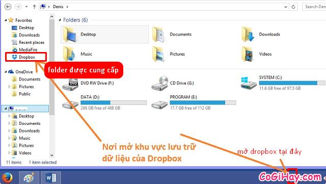 Hướng dẫn cài đặt và sử dụng DropBox trên máy tính, PC + Hình 9