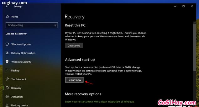 Bốn cách làm mới lại hệ điều hành Windows 10 + Hình 2