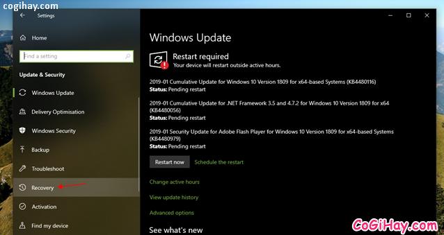 Bốn cách làm mới lại hệ điều hành Windows 10 + Hình 4