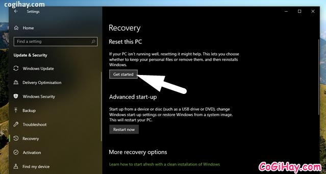 Bốn cách làm mới lại hệ điều hành Windows 10 + Hình 5