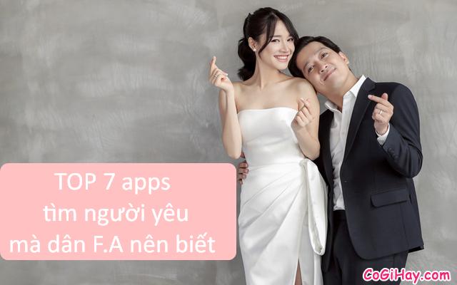 Những ứng dụng tìm người yêu mà dân F.A nên biết
