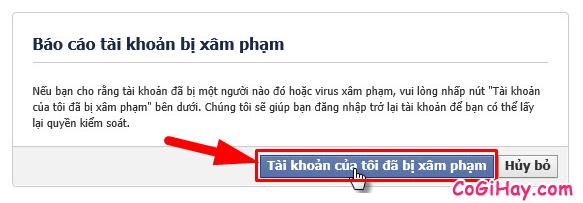 Hướng dẫn bạn cách lấy lại mật khẩu Facebook bằng chứng minh thư + Hình 10