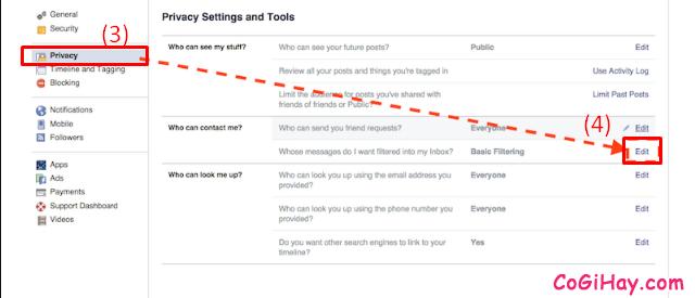 Hướng dẫn chặn tin nhắn quảng cáo trên Facebook Messenger + Hình 4
