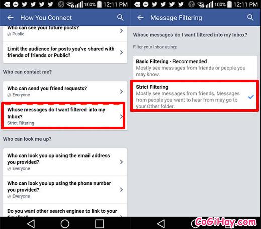 Hướng dẫn chặn tin nhắn quảng cáo trên Facebook Messenger + Hình 10