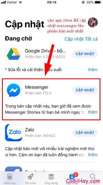 Cách cài đặt giao diện nền đen trong ứng dụng Messenger + Hình 5