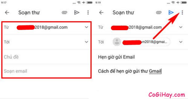 Cách sử dụng tính năng hẹn ngày, giờ gửi Email trên Gmail + Hình 8