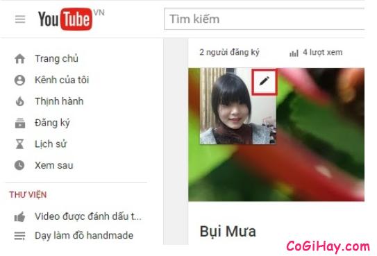 Cách thay đổi ảnh đại diện kênh YouTube bằng điện thoại + Hình 2