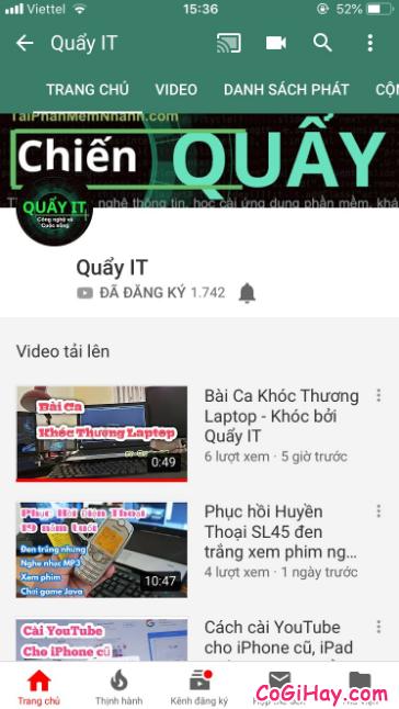 Cách thay đổi ảnh đại diện kênh YouTube bằng điện thoại + Hình 4
