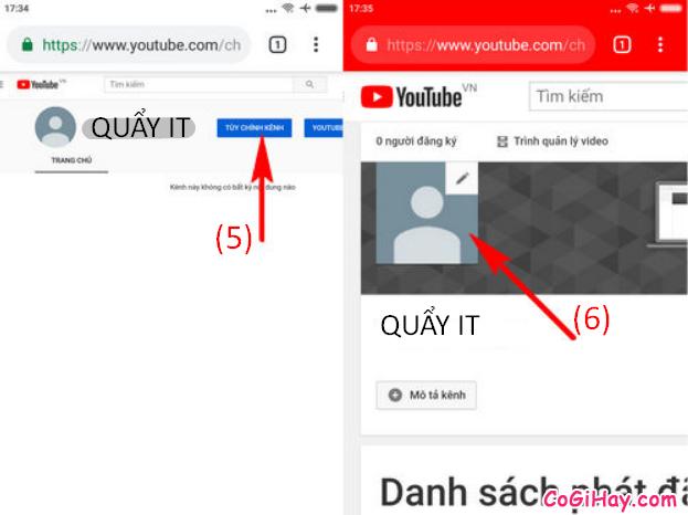 Cách thay đổi ảnh đại diện kênh YouTube bằng điện thoại + Hình 7