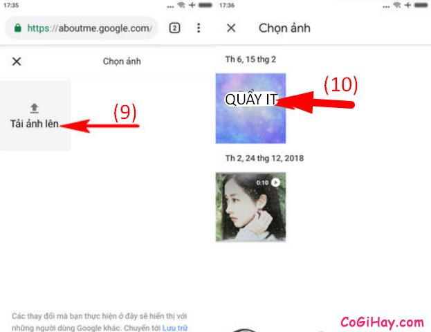 Cách thay đổi ảnh đại diện kênh YouTube bằng điện thoại + Hình 9