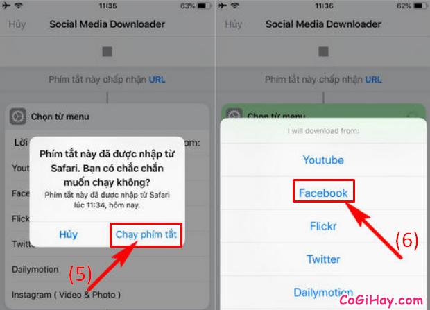 Cách tải video từ Facebook về điện thoại iPhone, iPad + Hình 7