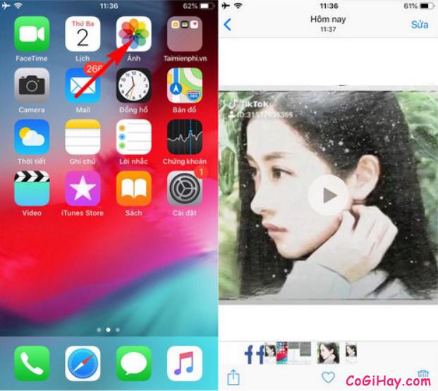Cách tải video từ Facebook về điện thoại iPhone, iPad + Hình 10