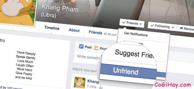 Lọc bạn bè không tương tác trên Facebook đơn giản nhất 2019 + Hình 5