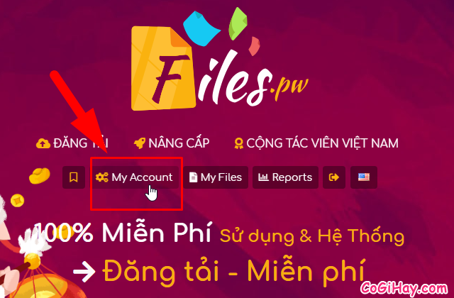 Cách kiếm tiền online bằng cách upload video files trên Filespw + Hình 25