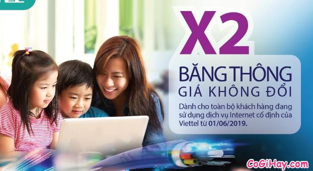 Từ 1/6: Nhà mạng Viettel nhân đôi băng thông dịch vụ internet + Hình 3