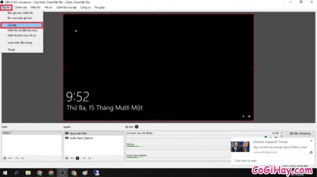 Hướng dẫn quay màn hình máy tính qua Youtube với OBS Studio + Hình 5
