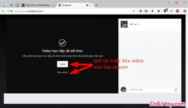 Cách sử dụng OBS Studio Live Stream màn hình máy tính lên Facebook cá nhân + Hình 19