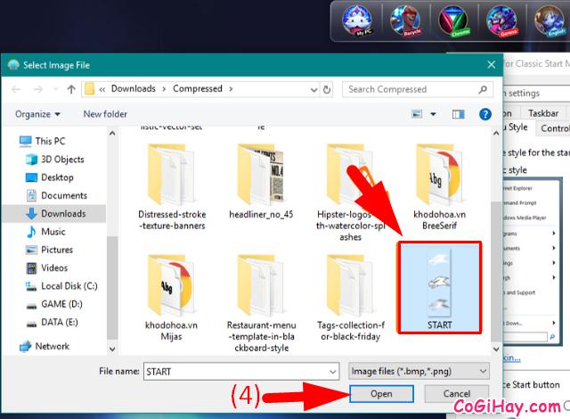 Hướng dẫn thay đổi biểu tượng iCon Start trên Windows 10 + Hình 5