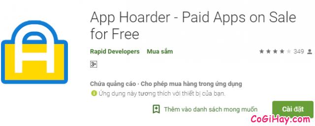 Cách Download Free ứng dụng phải trả tiền trên điện thoại Android + Hình 7