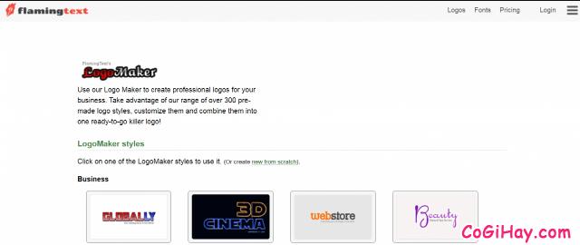 TOP 10 công cụ thiết kế LOGO miễn phí cho người không chuyên + Hình 12