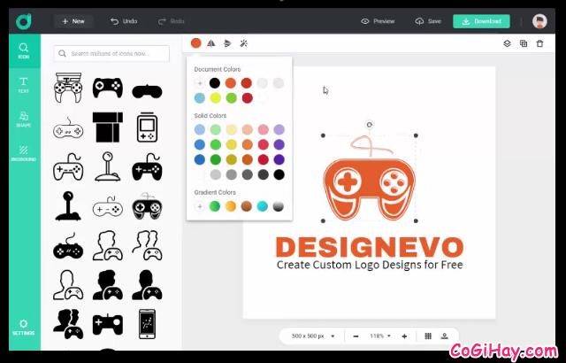 TOP 10 công cụ thiết kế LOGO miễn phí cho người không chuyên + Hình 26