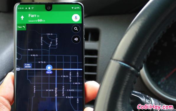 Hướng dẫn bật Chế độ tối - Dark mode trên ứng dụng Google Maps + Hình 3