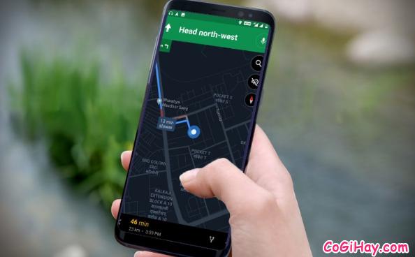Hướng dẫn bật Chế độ tối - Dark mode trên ứng dụng Google Maps + Hình 7
