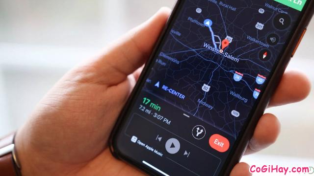 Hướng dẫn bật Chế độ tối - Dark mode trên ứng dụng Google Maps + Hình 14