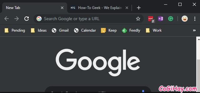 Cách sử dụng chế độ tối - Dark Mode trên Google Chrome PC + Hình 9