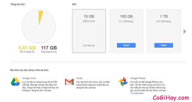 Hướng dẫn nhận miễn phí 1TB dung lượng Google Drive + Hình 5