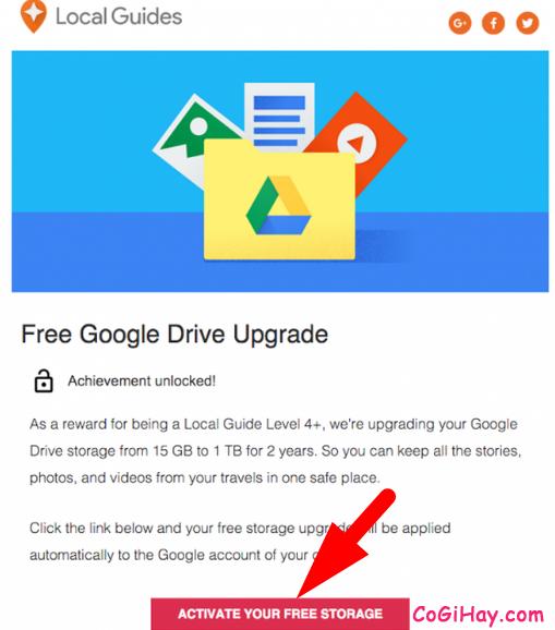 Hướng dẫn nhận miễn phí 1TB dung lượng Google Drive + Hình 12