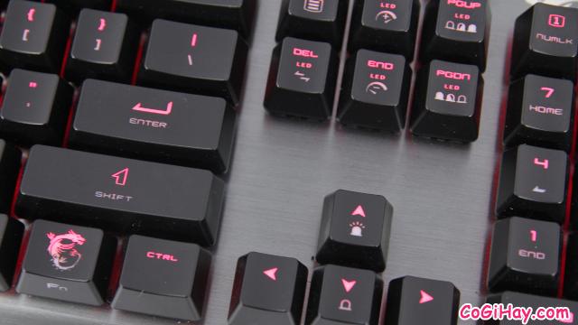 Review COMBO bàn phím - chuột Gaming MSI VIGOR GK60 & CLUTCH GM50 + Hình 9