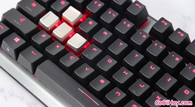 Review COMBO bàn phím - chuột Gaming MSI VIGOR GK60 & CLUTCH GM50 + Hình 11