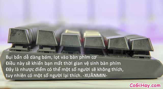 Review COMBO bàn phím - chuột Gaming MSI VIGOR GK60 & CLUTCH GM50 + Hình 12