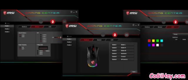 Review COMBO bàn phím - chuột Gaming MSI VIGOR GK60 & CLUTCH GM50 + Hình 17