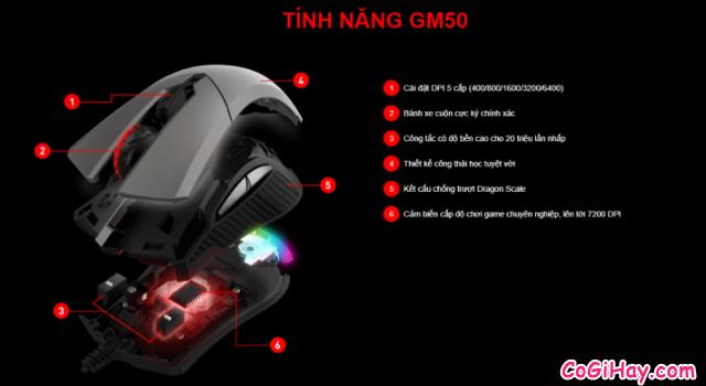 Review COMBO bàn phím - chuột Gaming MSI VIGOR GK60 & CLUTCH GM50 + Hình 19
