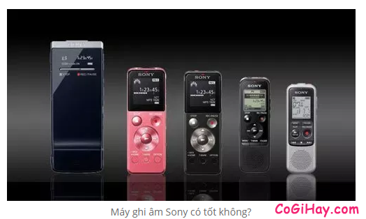 Máy ghi âm là gì? Nên chọn mua máy ghi âm của hãng nào là tốt nhất ? + HÌnh 10