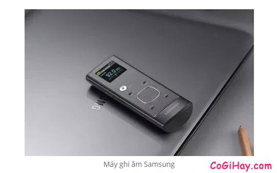 Máy ghi âm là gì? Nên chọn mua máy ghi âm của hãng nào là tốt nhất ? + HÌnh 12