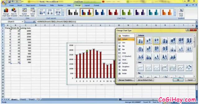 Hướng dẫn cách sao chép biểu đồ từ file Excel sang Word + Hình 10