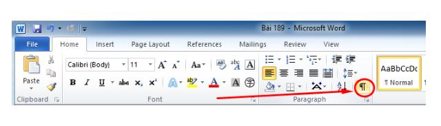Hướng dẫn xóa trang trong phần mềm soạn thảo văn bản Word + Hình 8