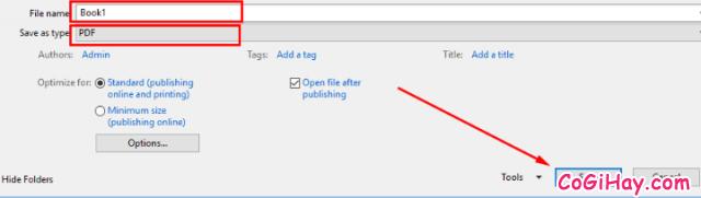 Cách chuyển file Excel sang PDF vẫn giữ nguyên được định dạng + Hình 6